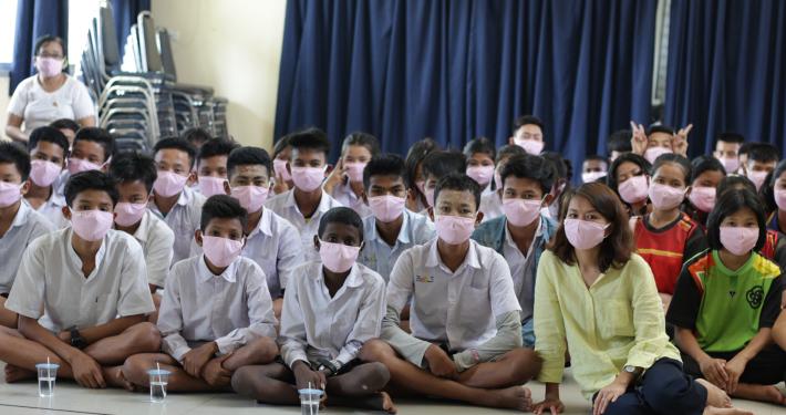 Distribuzione mascherine protettive